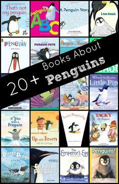Books About Penguins...includes both fiction and nonfiction