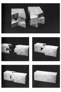 """En Detalle: Especial / Los ensambles de madera en la arquitectura japonesa tradicional,Empalme de """"Puerta de Castillo Otemon"""". Image Courtesy of Torashichi Sumiyoshi y Gengo Matsui"""