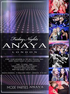 #friday #flyer #clubbing