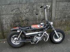 Rodded Honda Mini Bike