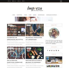 impreza free modern blogger theme Web Design, Blogger Themes, Blogger Templates, South Indian Actress, Impreza, Photography Portfolio, Portfolio Design, Free, Modern
