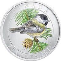 2011 Black-Capped Chickadee Commemorative Quarter