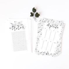 """This """"Duly Noted"""" set is now available on my etsy page! Check out the Bexley Paperie! Branding Design, Notebook, Notes, Check, Shop, Instagram Posts, Etsy, Report Cards, Brand Design"""