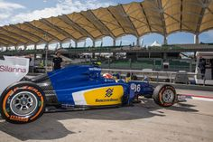 On Track w/Raffaele Marciello. #SauberF1Team Test & Reserve Pilot