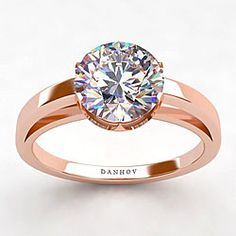 Rose gold wedding ring i want this for reals! all time favorite!