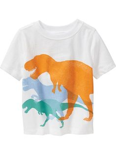 T-Rex Tees for Baby