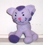 2000 Free Amigurumi Patterns: Periwinkle Kitty from Blues Clues Pattern