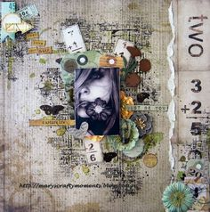 Just Love Yourself. Mary's Crafty Moments.