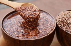 Flax seeds for diet: 4 recipes for using .- Flax Seeds for Dietary Nutrition: 4 Recipes for Personal Use Homemade Colon Cleanse, Ginger Juice, Beautiful Soup, Nutrition, Natural Remedies, Health Tips, Natural Hair Styles, Seeds, Food And Drink