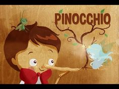 Pinocchio. Pinocchio, Illustrator, Toddler Videos, Learn German, Games For Kids, Autumn Leaves, Little Ones, Storytelling, Fairy Tales