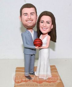 Basketball theme wedding cake topper - Click Image to Close Special Wedding Gifts, Custom Wedding Gifts, Personalized Cake Toppers, Custom Wedding Cake Toppers, Themed Wedding Cakes, Basketball, Weddings, Image, Personalised Wedding Gifts