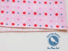 Sewing Basics ~ Narrow + Rolled Hems with a Serger « Sew,Mama,Sew! Blog