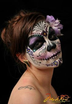 Mark Reid design Day of the dead Sugar skull Halloween