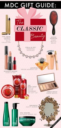 Holiday Gift Guide for the Classic Beauty