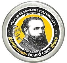 Professor Fuzzworthys Beard Care Balm Gloss Conditioner All Natural Organic Leatherwood Honey  Essential Plant Oils  Handmade in Tasmania Australia 40g >>> Be sure to check out this awesome product.