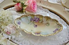 SALE!! Stunning Antique Royal Vienna Oblong dish