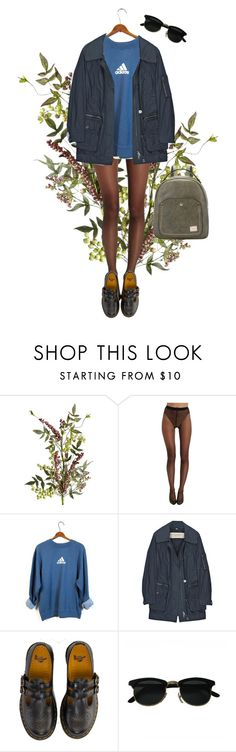 """""""Untitled #125"""" by borninthe1990s ❤ liked on Polyvore featuring Pier 1 Imports, Wolford, adidas, Burberry and Dr. Martens"""