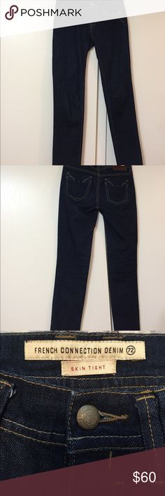 NWOT French connection skin tight denim Excellent condition! French connection denim skin tight jeans French Connection Jeans Skinny