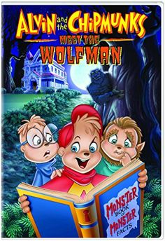 Ross Bagdasarian & Janice Karman & Kathi Castillo-Alvin and the Chipmunks Meet the Wolfman Family Movies, New Movies, Wolfman Movie, Alvin Und Die Chipmunks, Halloween Dvd, Halloween Ideas, Animated Cartoon Movies, The Chipettes