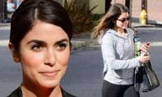 Nikki Reed squeezes in a workout session before red carpet bash
