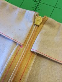 Following on from our NEW invisible zipper tutorial , here's how to attach your zipper to a facing with your sewing machine like a pro! ...