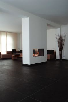 Want to know more about FOOGO? Visit us at foogo. Want to know more about FOOGO? Visit us at foogo. Home Fireplace, Modern Fireplace, Fireplace Design, Fireplaces, Chimenea Simple, Flur Design, Interior Architecture, Interior Design, Home Living Room