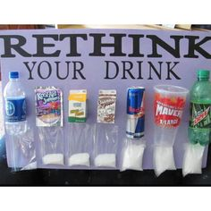 Not my picture, I got it from online. But think it is definitely interesting and something to keep in mind.  I stick to my water bottle that I fill up at home and reuse...