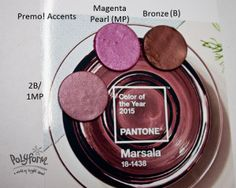 Polymer Clay Color Recipe for Marsala by Syndee Holt