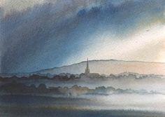Masham from Roomer - Ian Scott Massie Prints - The Gallery, Masham enquiry@mashamgallery.co.uk