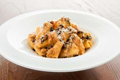 Rigatoni with Vegetable Bolognese recipe by Giada De Laurentiis.