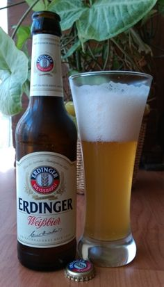 Beer Of the day. Erdinger Weissbrau. Delicious...