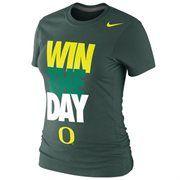 Oregon Ducks Nike Women's Local Slim Fit T-Shirt – Green