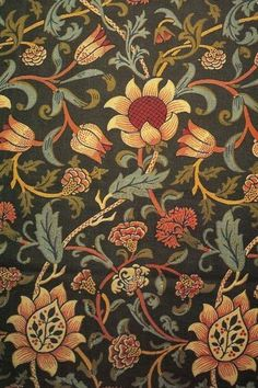 Flowers pattern design wallpaper william morris 31 Ideas for 2019 William Morris Wallpaper, William Morris Art, Morris Wallpapers, Vintage Wallpapers, Arts And Crafts Movement, Textile Patterns, Print Patterns, Fabric Design, Pattern Design