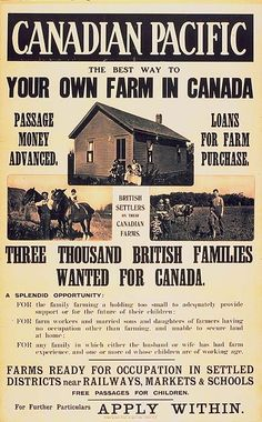 Immigration - After the war, immigration to Canada was encouraged again but it was extremely limited. Canada want - Canadian Facts, Canadian History, Canadian Coins, Social Studies Classroom, Social Studies Activities, Teaching Social Studies, O Canada, Canada Travel, Farming In Canada