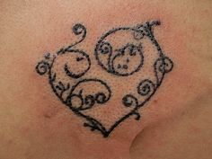 lace heart design | 28 Provocative Lace Tattoos - SloDive