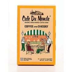 Cafe Du Monde Decaf Coffee and Chicory Single-Serve Cup Pods - 12 Count Cafe Du Monde Coffee, Spring Cafe, New Orleans Vacation, Coffee Stands, Decaf Coffee, Single Serve Coffee, Coffee Uses, Gourmet Recipes, French