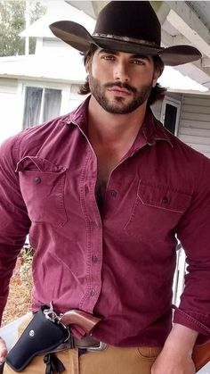 Hot Country Men, Cute Country Boys, Beautiful Men Faces, Gorgeous Men, Gay Male Models, Leather Men, Leather Jacket, Boss Brand, Abs Boys