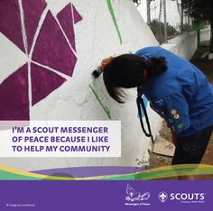 Quote My Community, Some Pictures, Scouts, Peace, World, Quotes, Movie Posters, Design, Quotations