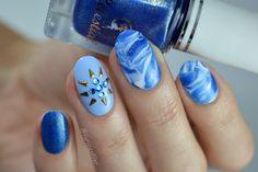 31 Day Challenge: Blue Nails nail art by Furious Filer - Nailpolis: Museum of Nail Art