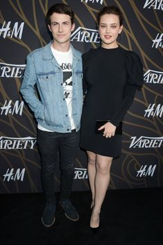 """Dylan and Katherine at the """"Power of Young Hollywood"""", event organized by @Variety 8-8-17"""