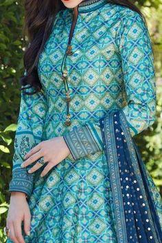 Women's kurtis online: Buy stylish long & short kurtis from top brands like BIBA, W & more. Explore latest styles of A-line, straight & anarkali kurtas. Salwar Designs, Silk Kurti Designs, Kurta Designs Women, Kurti Designs Party Wear, Neck Designs For Suits, Designs For Dresses, Dress Neck Designs, Designer Salwar Kameez, Dhoti Salwar Suits