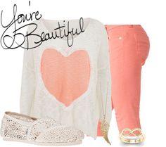 """You're Beautiful!"" by mrs-jenna-payne ❤ liked on Polyvore"