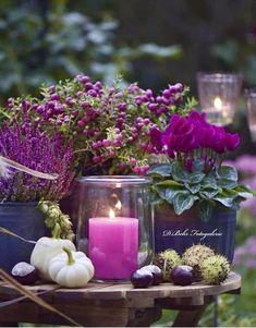 Elegant Flowers, Fall Flowers, Purple Flowers, Wedding Flowers, Deco Floral, Arte Floral, Behr, Autumn Garden, Autumn Inspiration