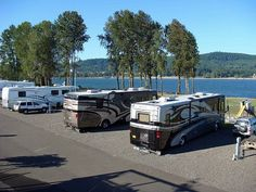 Columbia Riverfront RV Park in Woodland, WA. A beautiful park with great river views!! Perfect place to stay.