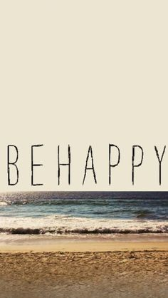 BE HAPPY iPhone5 壁紙