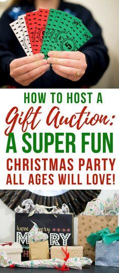 Christmas Party Gift Auction- Christmas Party Game Idea-White Elephant Exchange Ideas