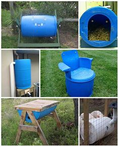 51 Best Plastic Barrel Ideas images in 2019 | Gardens, Rain