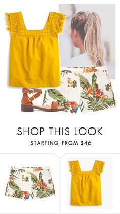 """Untitled #907"" by aubreyspringer ❤ liked on Polyvore featuring MANGO, J.Crew and Forever 21"