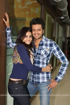 Genelia and Ritesh - so cute :)
