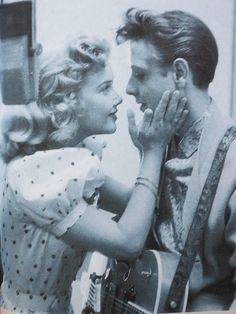 EDDIE COCHRAN and Yvonne Lime
